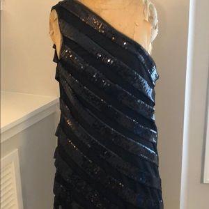 Tadashi Shoji Dresses - Black Sequin Cocktail Dress